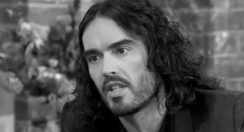 russell brand bw
