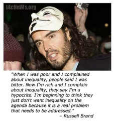 russell brand quote inequality