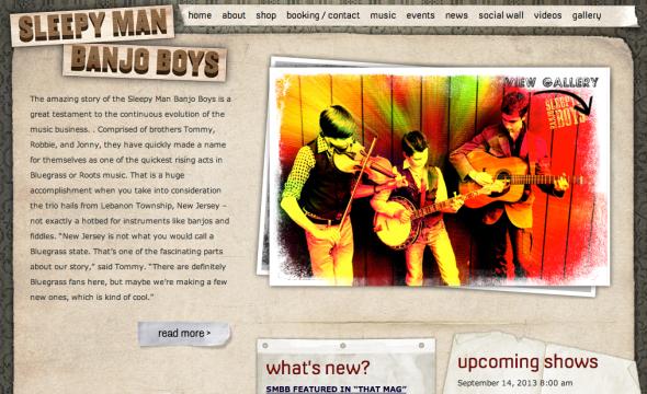 sleepy man banjoy boys site