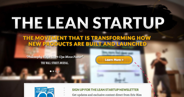 the lean startup site