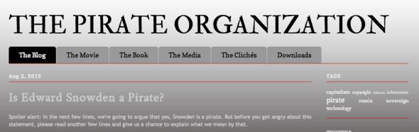 the pirate organization site