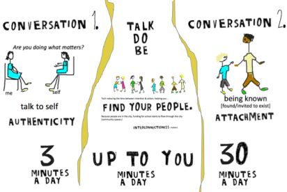 two convos graphic