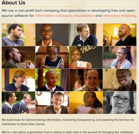 ushahidi about