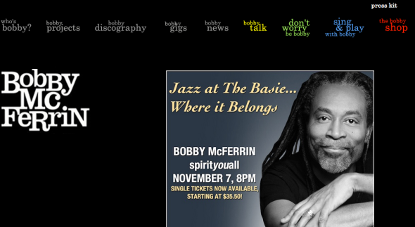 bobby mcferrin site