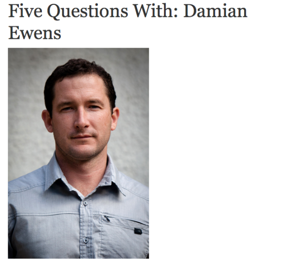 damian five questions