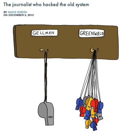greenwald post by sirota