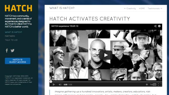 hatch site