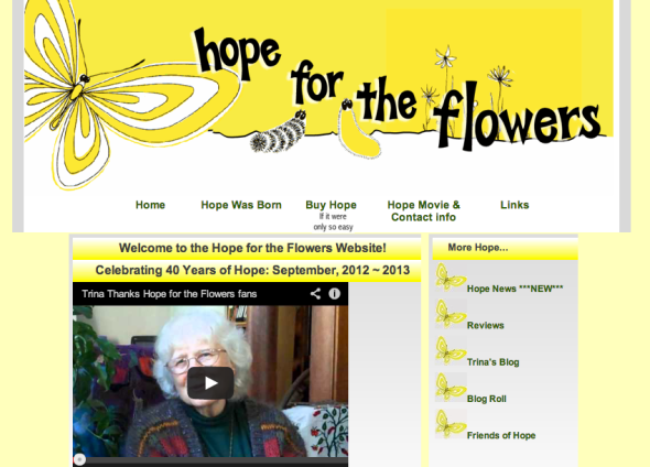 hope for the flowers site