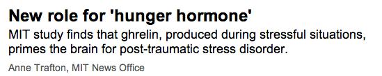 hunger hormone