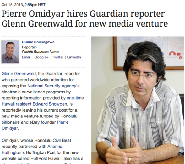 omidyar and greenwald