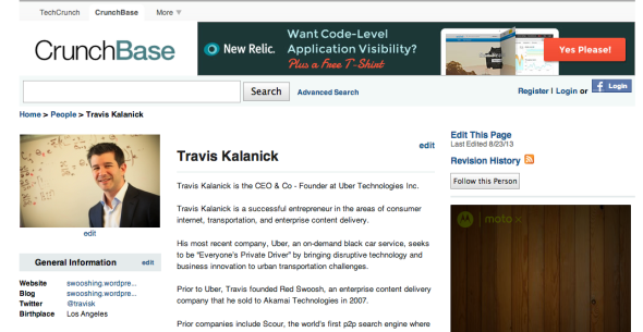 travis on crunchbase