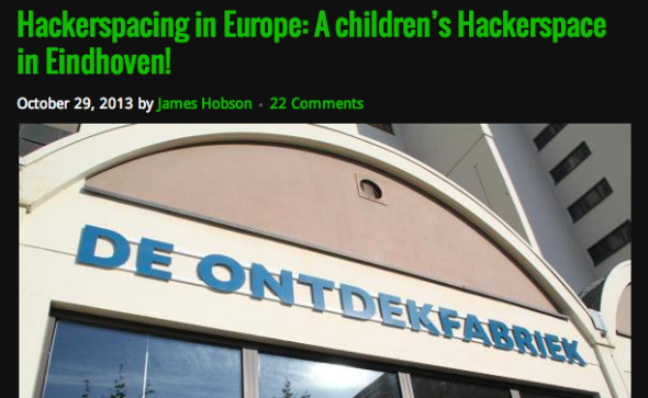 hackerspace europe article