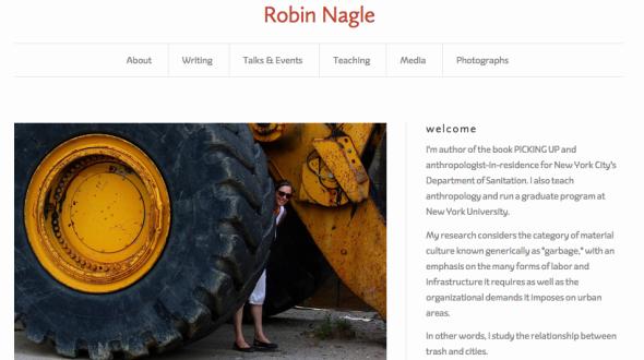 robin nagle site