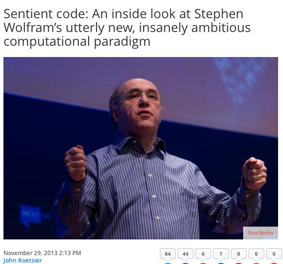 stephen post of sentient code