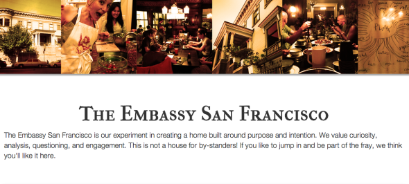 the embassy sf