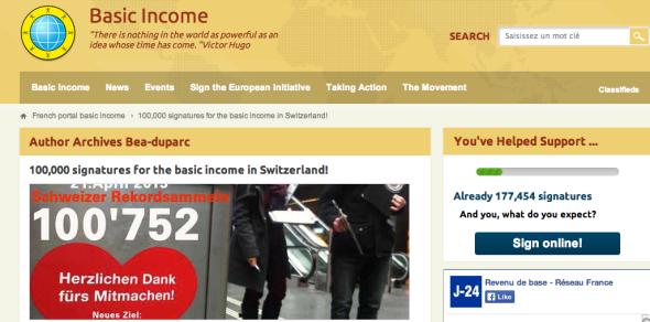 basic income switzerland