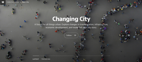 changing city