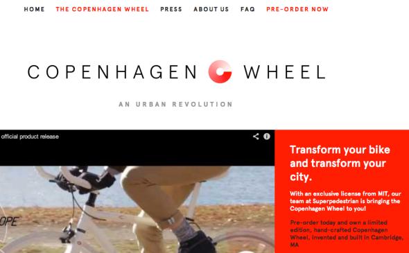copenhagen wheel site