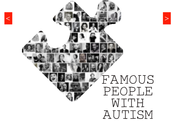 famous people with autism
