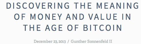 gunther on bitcoin