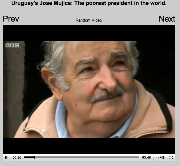 jose mujica video