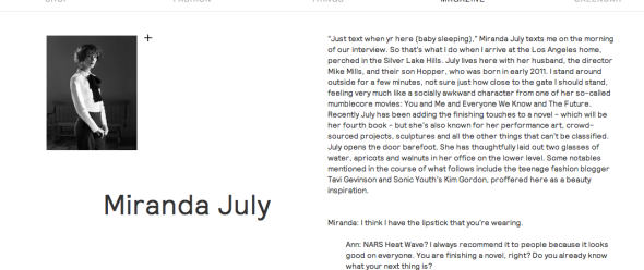 miranda july interview