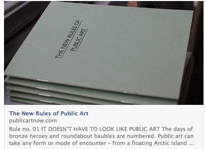 new rules of public art