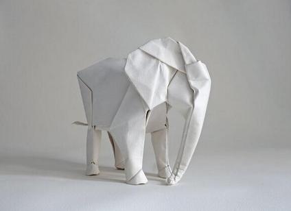 oragami elephant