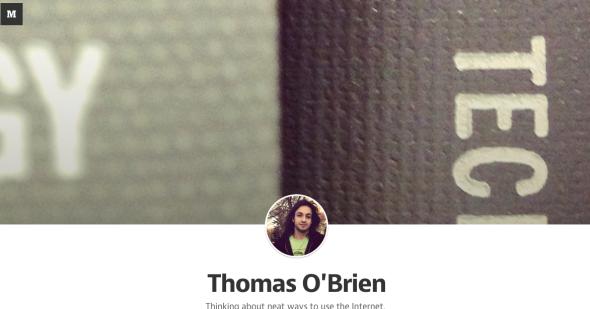 thomas on medium
