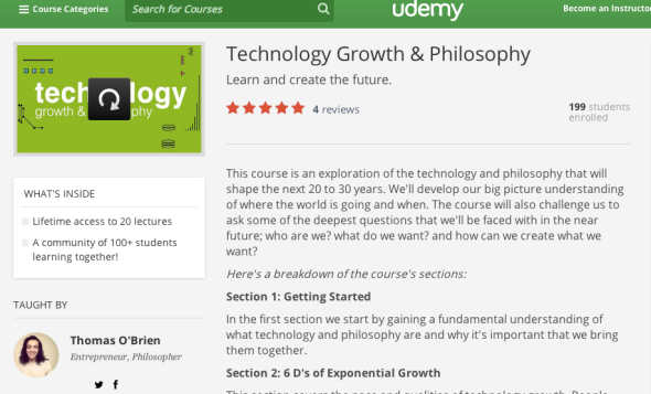 thomas on udemy