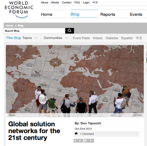 wef global solution