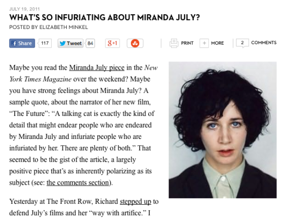 what's so infuriating about miranda