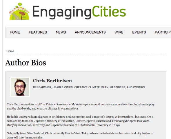 chris engaging cities