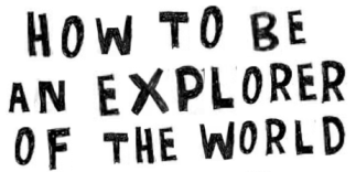how to be an explorer title