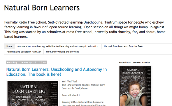 natrual born learners site