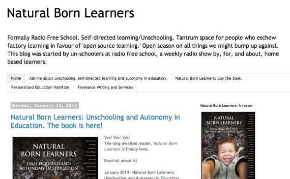 natrual born learners site