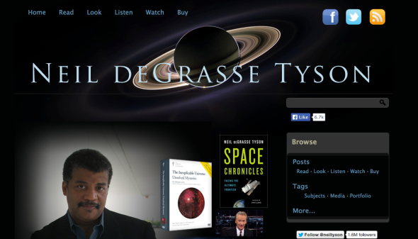 neil degrasse site