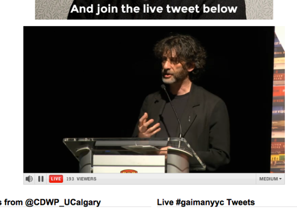 neil gaiman talk