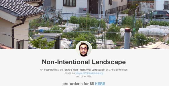 non intentional landscape