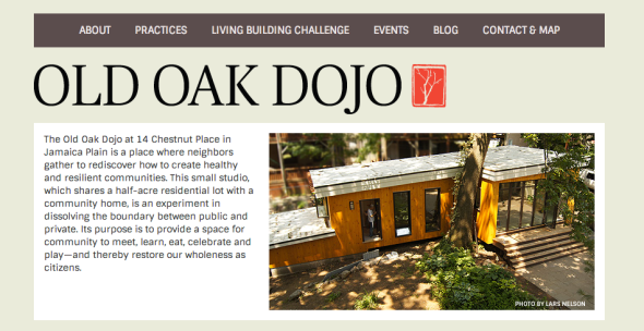 old oak dojo