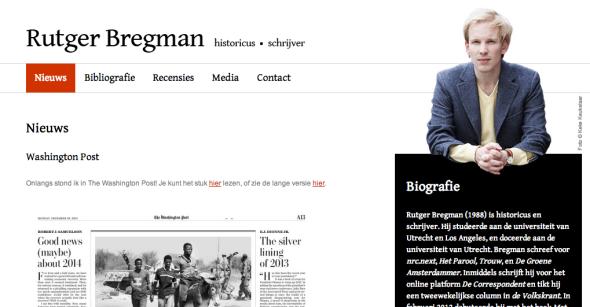 rutger bregman site