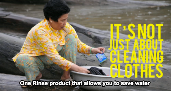unilever save water