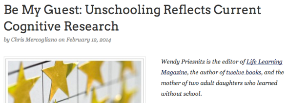 unschooling by wendy