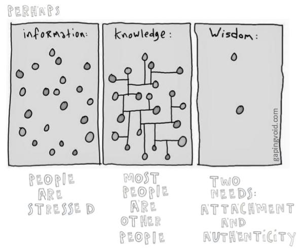 knowledge vs wisdom | be you.
