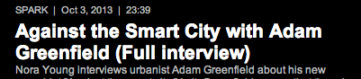 against smart city radio