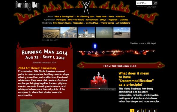 burning man site