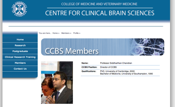 centre for clinical brain sciences