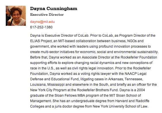 dayna on mit site