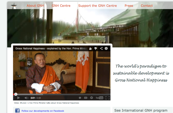 gnh in bhutan