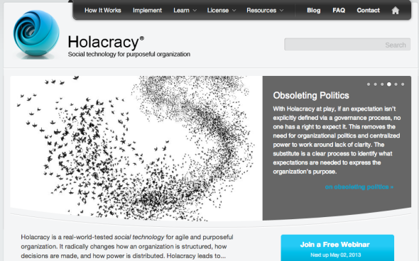holacracy site